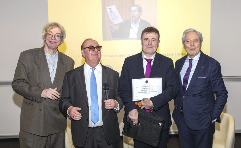 Gérard Gallo, Alain Metton, Franck Bournois et Philippe Houzé